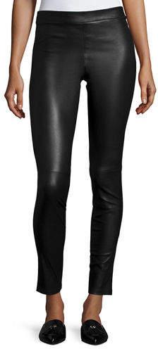 Theory Adbelle L2 Bristol Leather Leggings