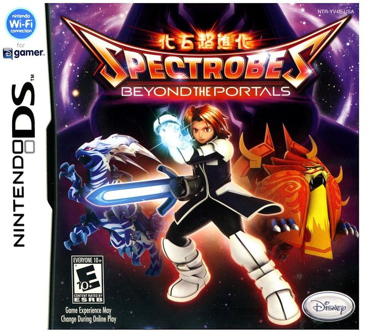 Nintendo Spectrobes: beyond the portals for ds