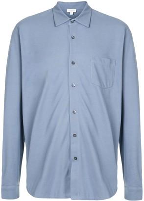Sunspel Plain Pique Shirt