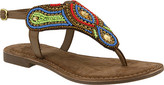 Azura Women's Kaisha Beaded Thong Sandal