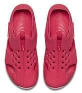 Nike Sunray Protect 2 Little Kids' Sandal Size 11C (Black)