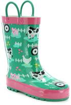 Western Chief Aqua Farm Fun Rain Boot