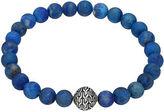John Hardy Large Turquoise Beaded Bracelet with Magnetic Clasp