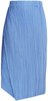 Jil Sander Caucciu pleated silk skirt