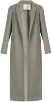 ADAM by Adam Lippes Notch lapel cashmere and wool-blend coat