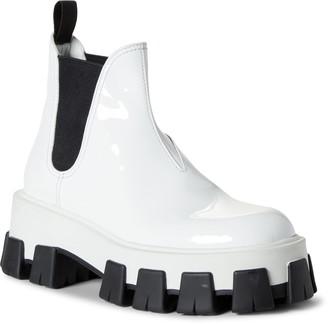 Prada Lug Chelsea Monolith Boot