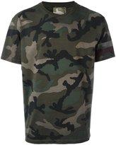 Valentino camouflage print T-shirt - men - Cotton - S