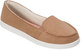 Dearfoams Women's Mixed Material Moccasin with Gore