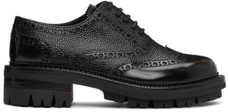 DSQUARED2 Black Bobby Lace-Up Loafers