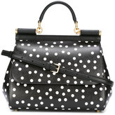 Dolce & Gabbana polka dot bag - women - Leather - One Size