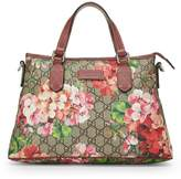 Gucci Pink Blooms Supreme GG Canvas Tote