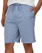 Nautica Herringbone Woven Cotton Sleep Shorts