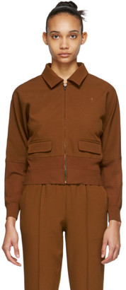 Opening Ceremony Brown Batwing Track Jacket