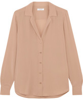Equipment Adalyn Washed-silk Shirt - Blush