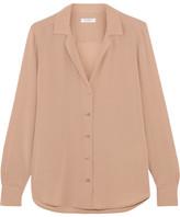 Equipment Adalyn Washed-silk Shirt - Blush