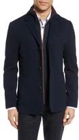 Ted Baker Men's Knit Bib Inset Three-Button Jacket