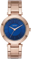 DKNY Women's Stanhope Rose Gold-Tone Stainless Steel Bracelet Watch 36mm NY2575