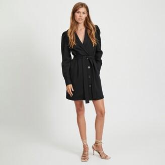 Vila Long Sleeve Blazer Dress