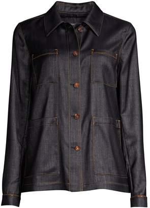 Lafayette 148 New York Esmeralda Denim Jacket