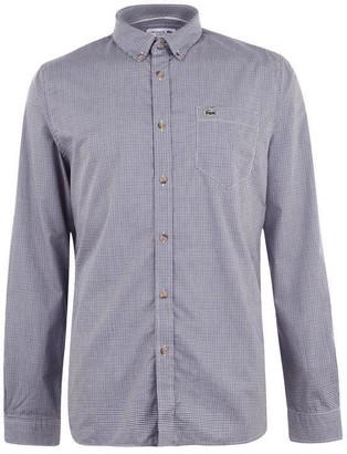 Lacoste Long Sleeve Check Shirt