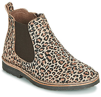 Citrouille et Compagnie LILEO girls's Mid Boots in Brown