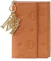 MCM Klara Monogrammed Leather Wallet