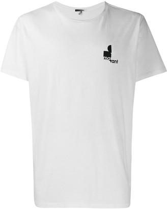 Isabel Marant chest logo T-shirt