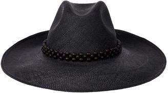 Trina Turk Artesano Peoni Wide Brim Hat