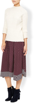 Monsoon Judy Geo Skirt