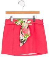 Milly Minis Girls' Wool-Blend Mini Skirt