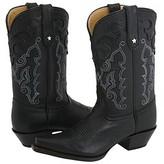 Tony Lama Vaquera Collection (Black) - Footwear