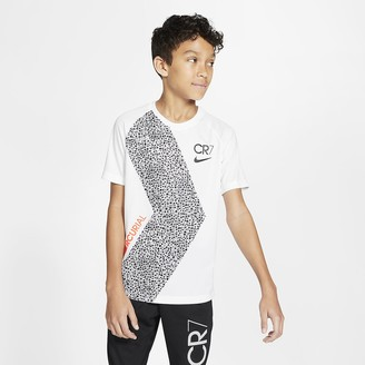 Nike Big Kids' Short-Sleeve Soccer Top Dri-FIT CR7