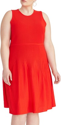 Rachel Roy Liliana Fit and Flare Dress (Plus Size)