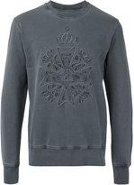 Vivienne Westwood Man - logo embroidered sweatshirt - men - Cotton - M
