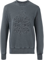 Vivienne Westwood Man logo embroidered sweatshirt