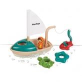Plan Toys Fishing boat for the bath tub