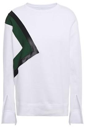 Koral Saultry Matte Cotton-blend Fleece Sweatshirt