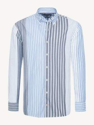 Tommy Hilfiger Relaxed Fit Mixed Stripe Shirt