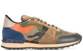 Valentino Garavani Valentino Rockrunner sneakers - men - Cotton/Leather/Suede/rubber - 43