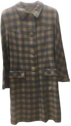 Valentino Multicolour Cotton Coat for Women Vintage