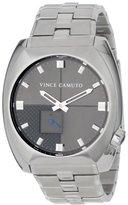 "Vince Camuto Men's VC/1021DGSV ""The Cadet"" Silver-Tone Watch with Link Bracelet"