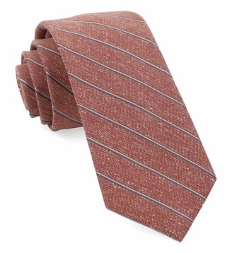 Tie Bar Pike Stripe Orange Tie