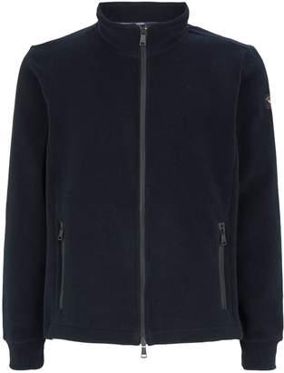 Paul & Shark Zip-Up Fleece Sweatshirt