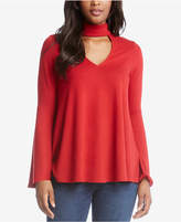 Karen Kane Mock-Neck Cutout Sweater, Created for Macy's