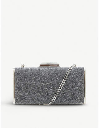 Dune Boxiee metal frame clutch bag