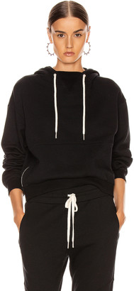 John Elliott Hooded Villain Sweatshirt in Black | FWRD
