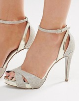 Carvela Gifted Gold Metallic Heeled Sandals
