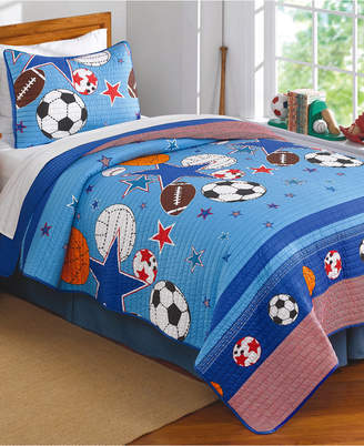 My World Sports & Stars Reversible 3-Pc. Full/Queen Comforter Set Bedding