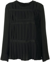 Steffen Schraut pleated top