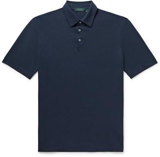Incotex Ice Cotton-Jersey Polo Shirt